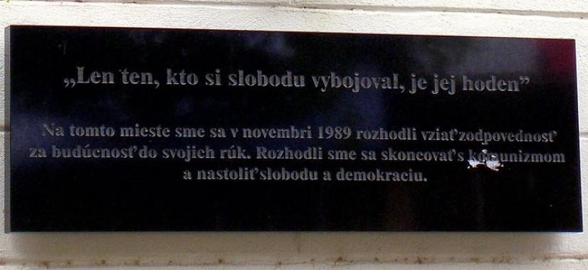 Obete komunizmu spôsobili zločinci, uchovajme v pamäti